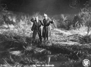 "Kadr zfilmu ""Pies Baskerville'ów"" (1929). FINA"